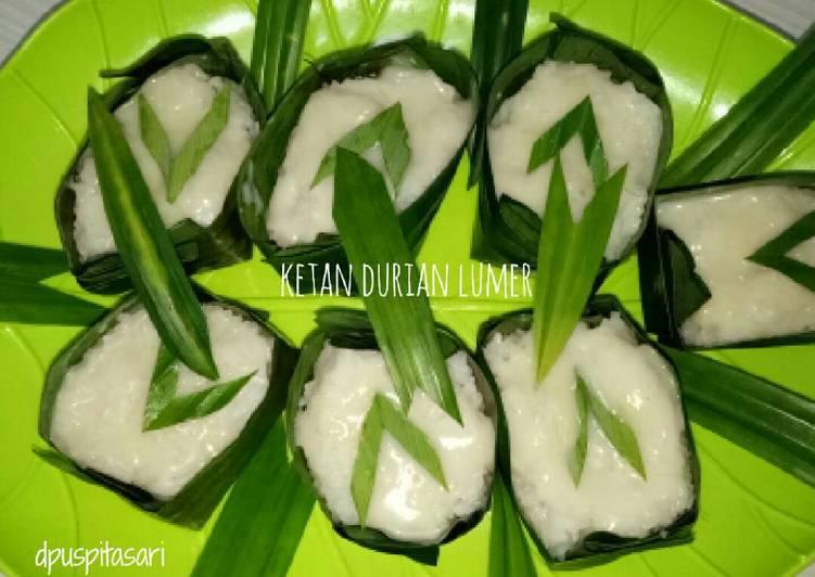 Ketan Durian Lumer (TanDuMer)