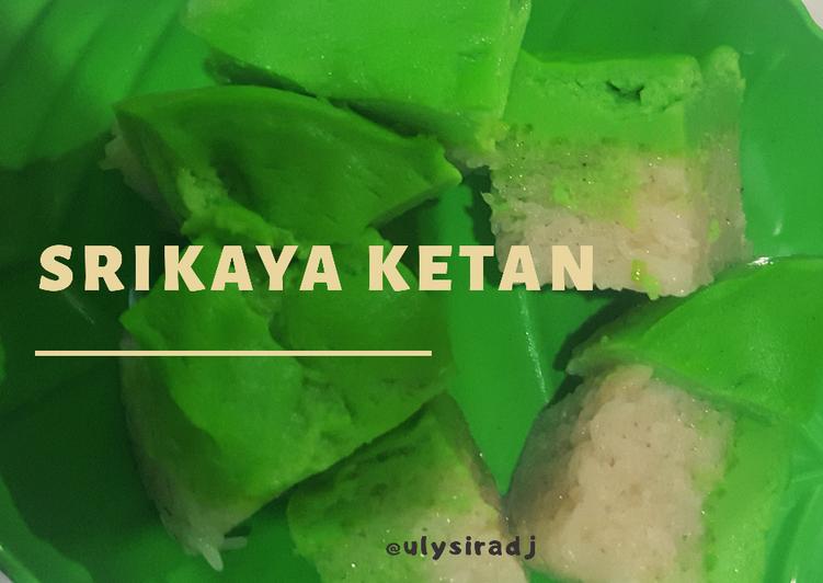 Resep memasak Srikaya Ketan Simple ala resto
