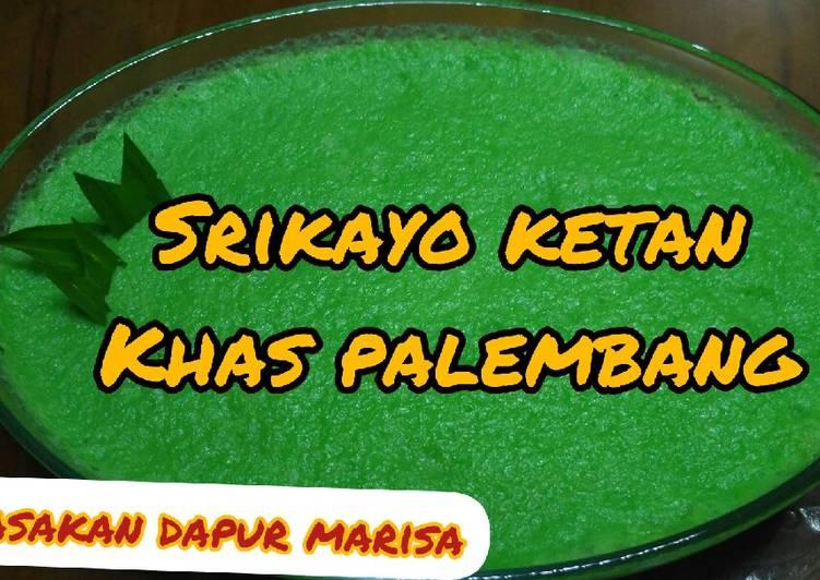Resep Srikayo Ketan Khas Palembang