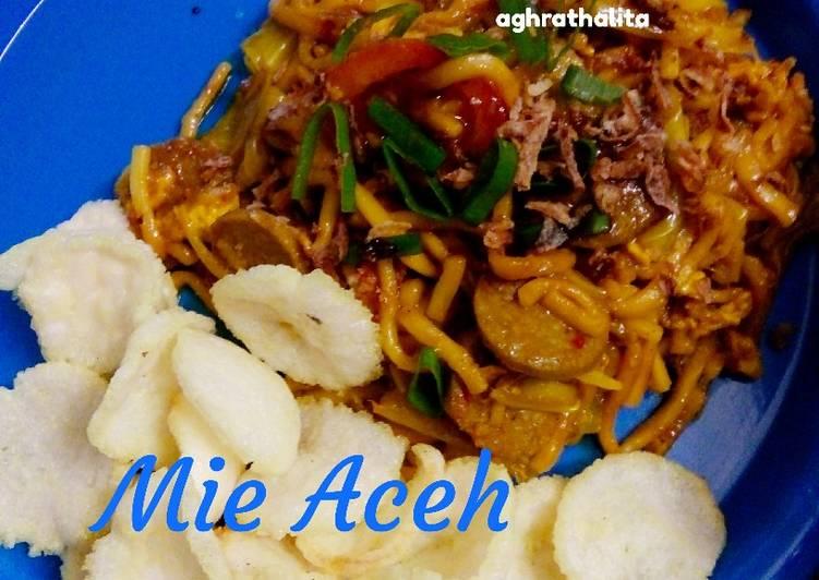 10. Mie Aceh Simple #BikinRamadanBerkesan
