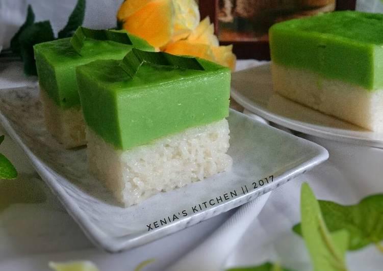 Ketan Srikaya/ Kuih Serimuka/Kue Sarawak