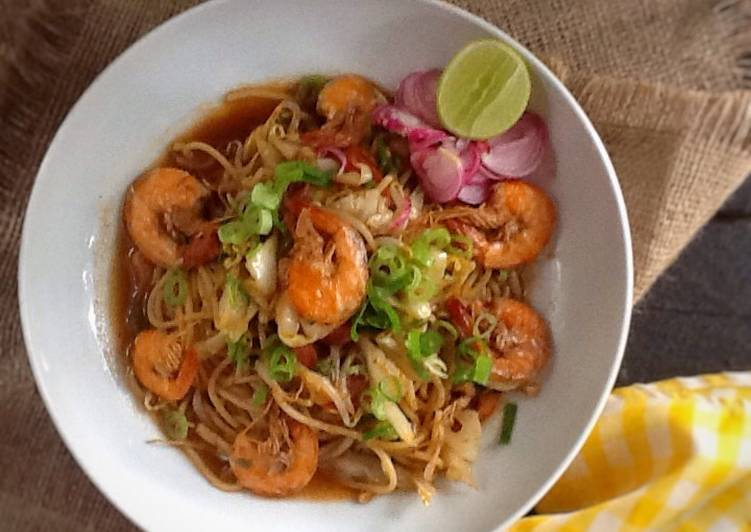 Cara memasak Mie Aceh #bikinramadhanberkesan enak