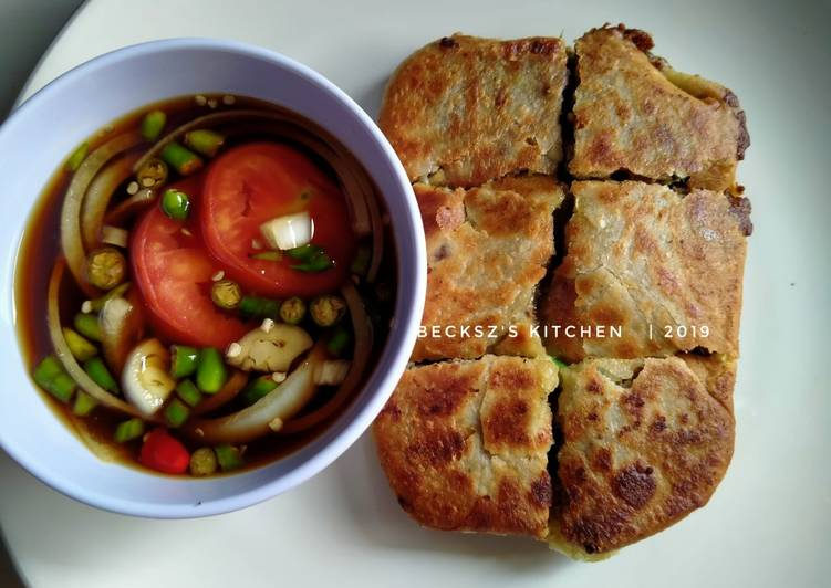 Resep memasak 75. Martabak Mesir Khas Padang ala resto