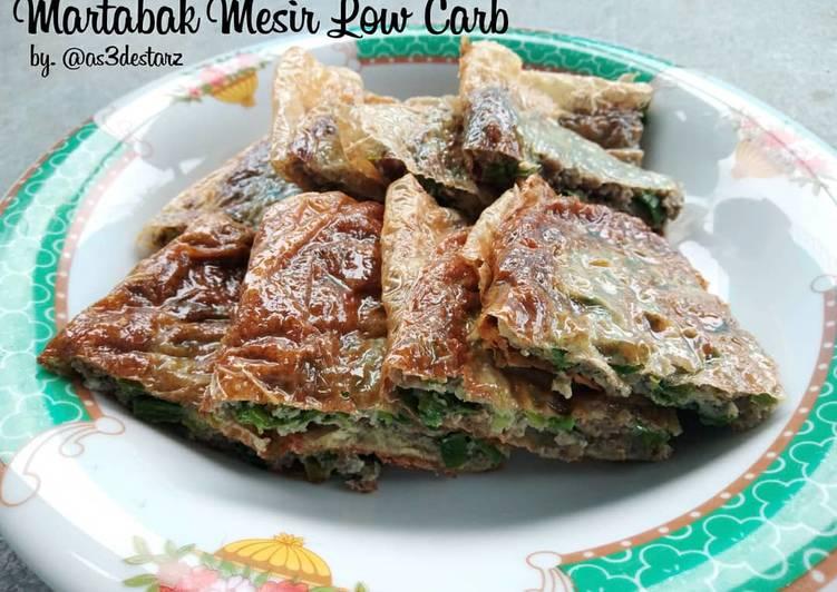 Resep memasak Martabak Mesir Low Carb ala resto