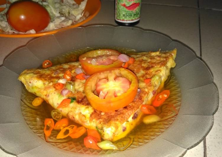 Cara Mudah memasak Martabak mesir teflon yang bikin ketagihan