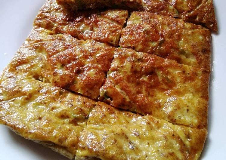 Resep: Martabak mesir (low carb/keto) yang menggugah selera
