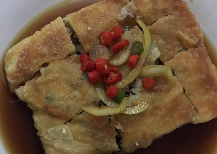 Resep: Martabak Mesir / martabak daging sapi enak