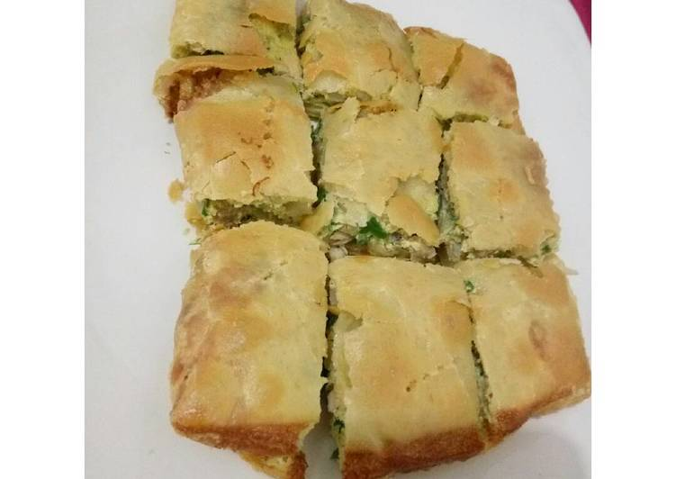 Martabak kubang kuah cuka home made