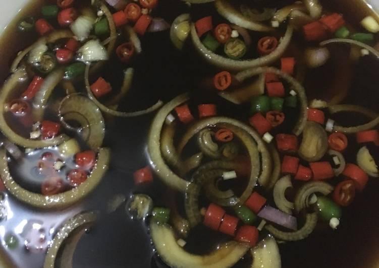 Cara memasak Kuah/cuko Martabak Mesir sedap
