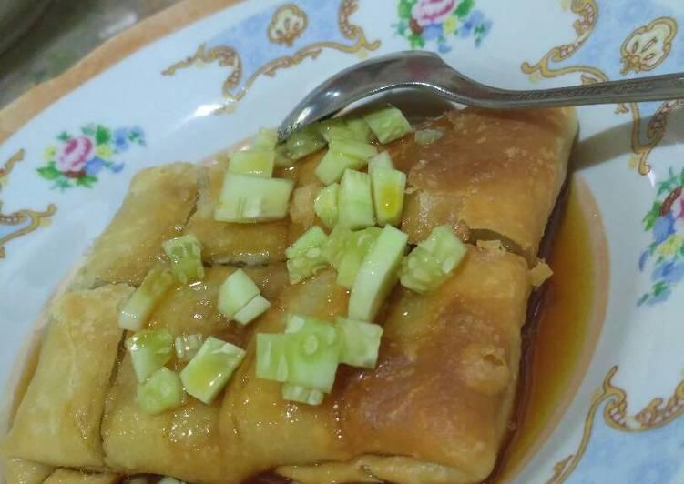 Resep memasak Martabak mesir ala diva 😍 yang menggugah selera