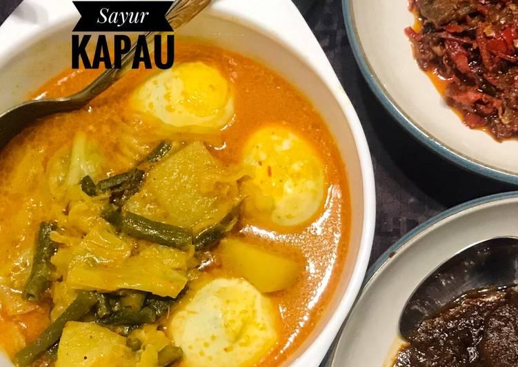 Resep memasak Gulai Sayur Kapau yang bikin ketagihan