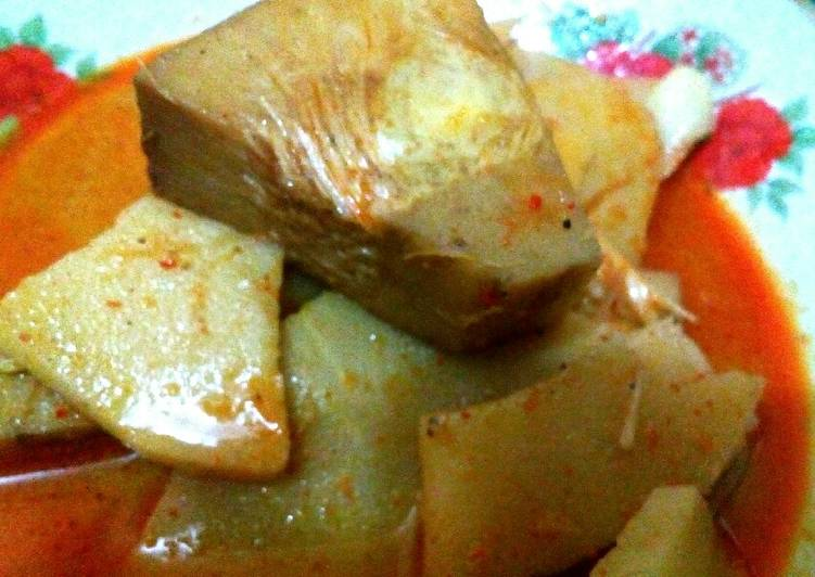 Gulai Kapau khas resep mertua