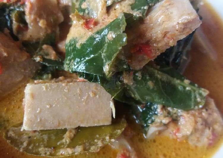 Resep: Gulai Kapau minus jengkol lezat