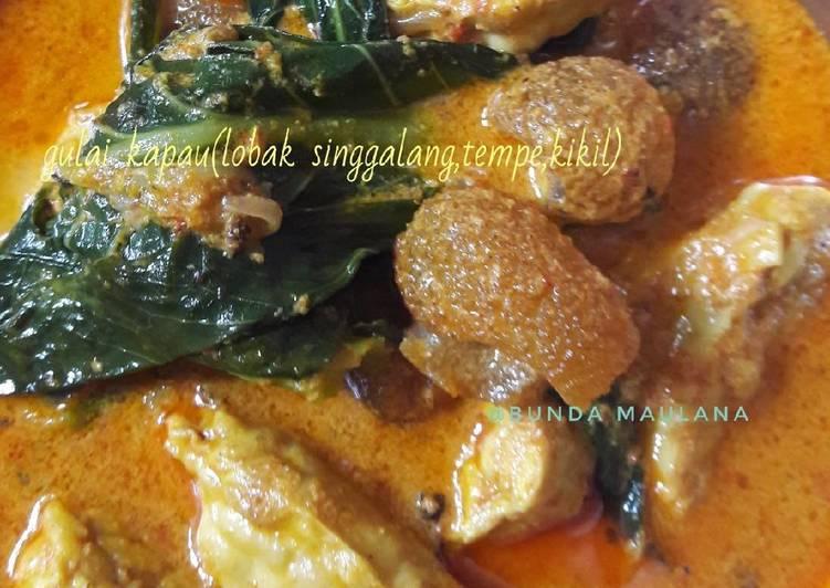 Cara Mudah memasak Gulai kapau(lobak singgalang,tempe,kikil) istimewa