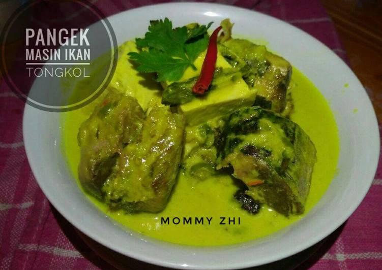 Cara membuat Gulai Pangek Masin ikan tongkol (khas Minang) yang menggugah selera