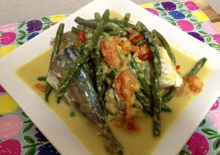 Resep membuat Pangek masin ikan lezat