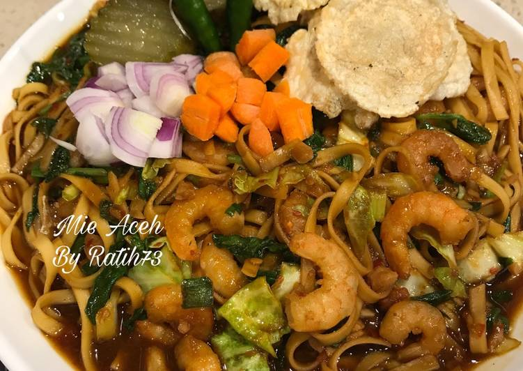 Cara mengolah Mie Aceh Super Pedass ala resto