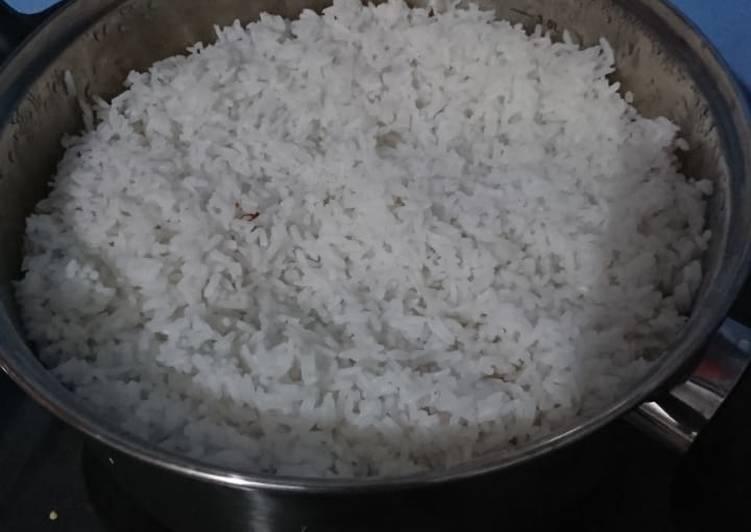 """Nasi """"dandang"""" Pulen dengan metode Siram"""