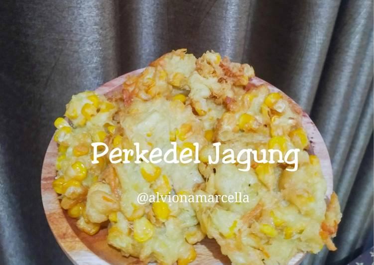 Resep: Perkedel jagung ala kostmade lezat