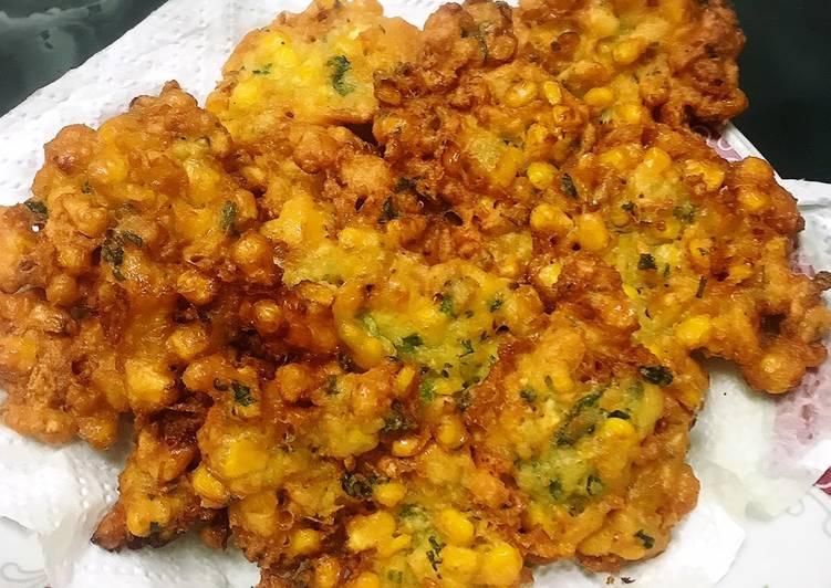 Resep: Perkedel jagung / Bakwan Jagung enak