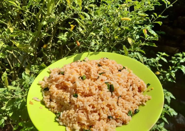 Nasi Goreng Kecap dengan Sawi