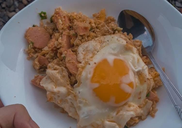 Cauli Fried Rice // Nasi Goreng Kembang Kol (Keto - DEBM)