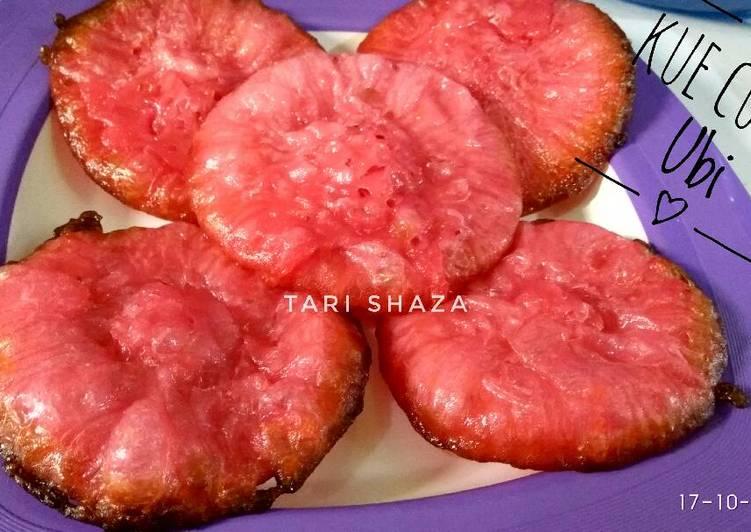 Resep membuat Kue Cucur Ubi aka Pinyaram KW #pr_kuetradisionalBerserat