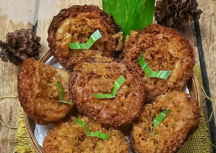 Resep mengolah Pinyaram/kue cucur #pr_kuetradisionalberserat yang bikin ketagihan