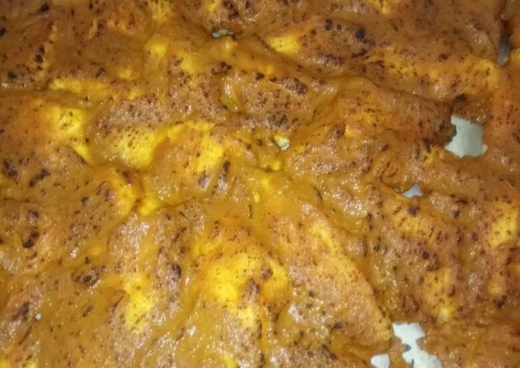 Resep membuat Ikan dori bumbu rendang