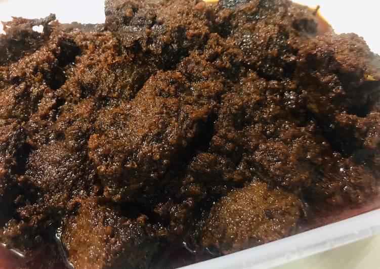 Resep mengolah Rendang daging istimewa