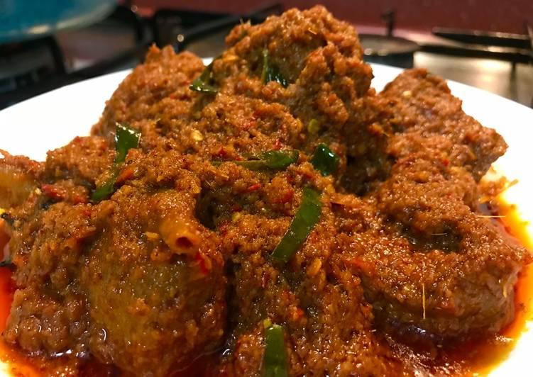 Resep memasak Rendang Daging yang bikin ketagihan