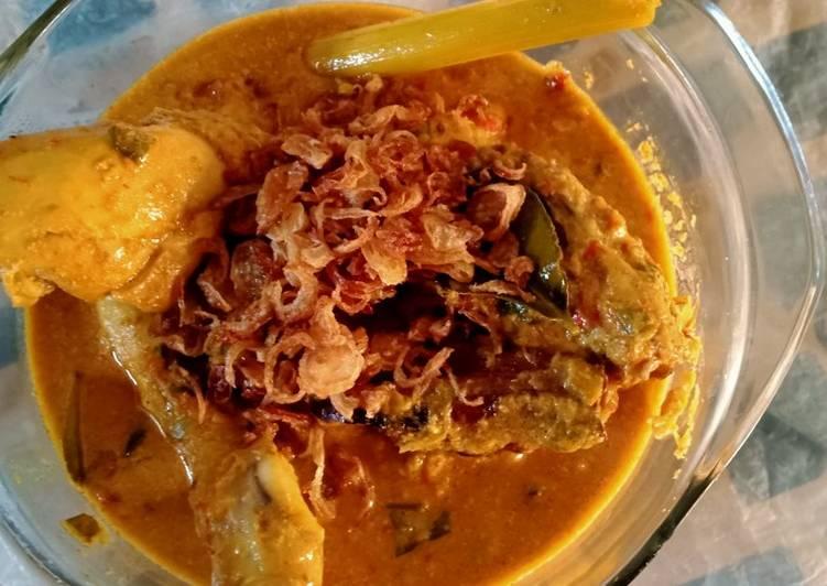 Resep mengolah Rendang Ayam Spesial Bawang yang menggugah selera