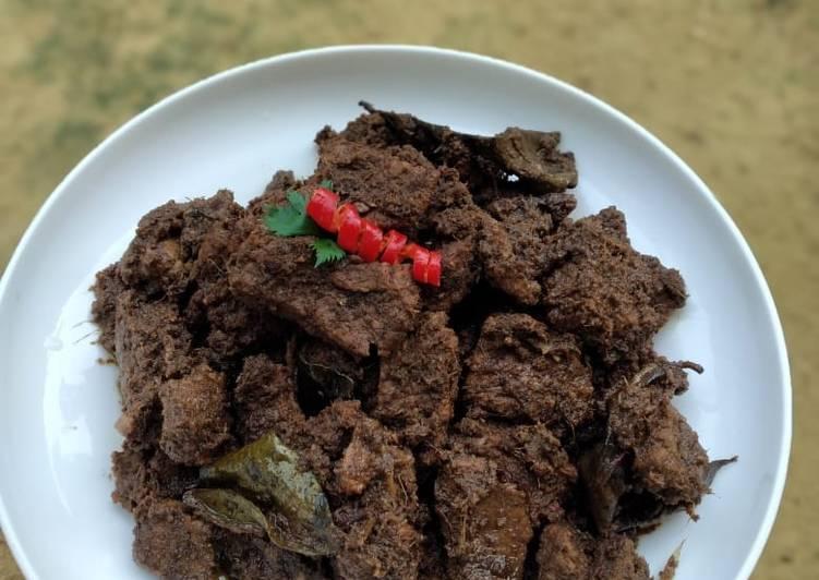 Resep: Rendang daging sapi lezat