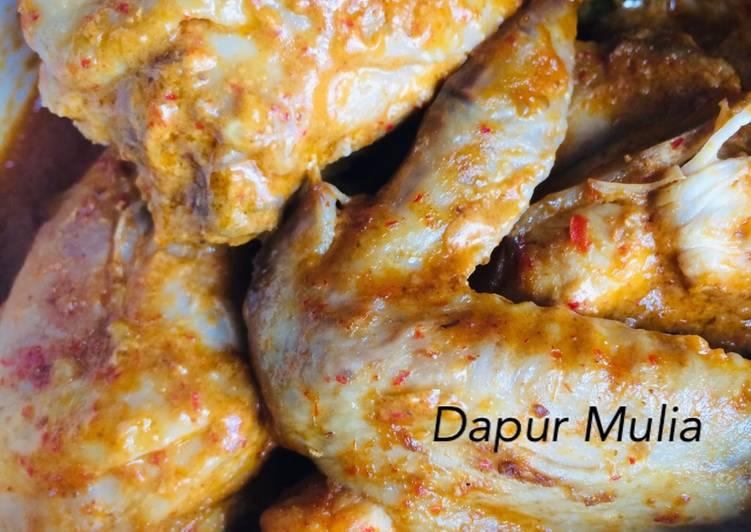 Resep mengolah Rendang Ayam yang menggugah selera