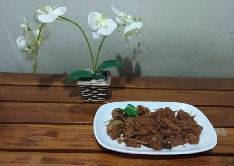 Resep: Rendang Daging Sapi Tidak Pedas yang menggoyang lidah