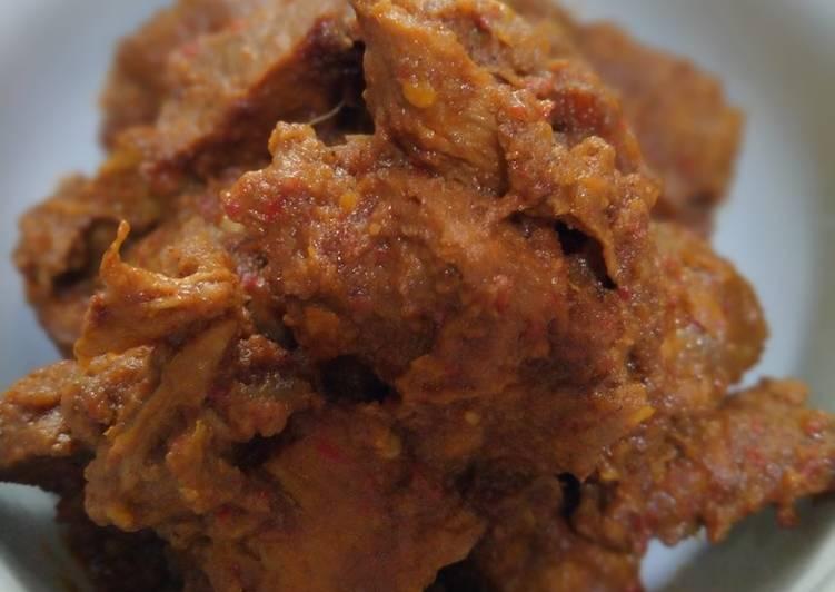 Resep: Rendang daging ala resto