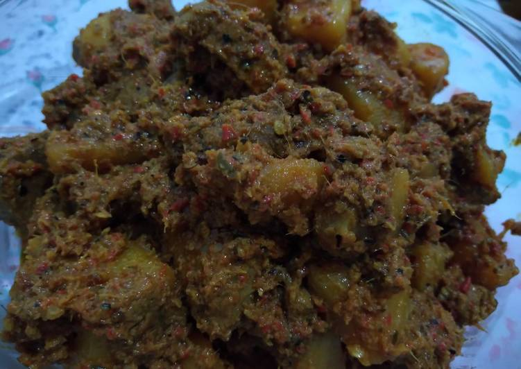 Resep: Rendang daging kentang istimewa