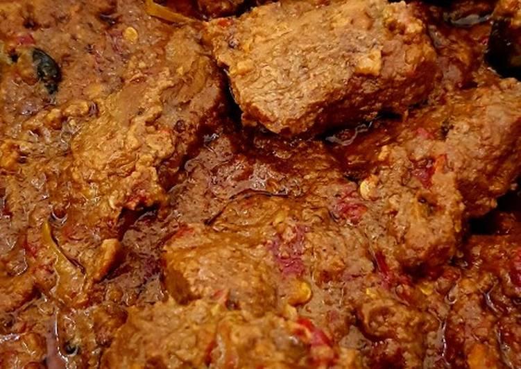 Cara memasak Rendang daging yang menggugah selera