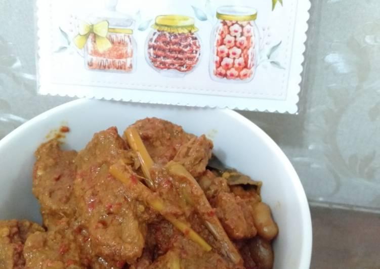 Resep: Rendang daging enak