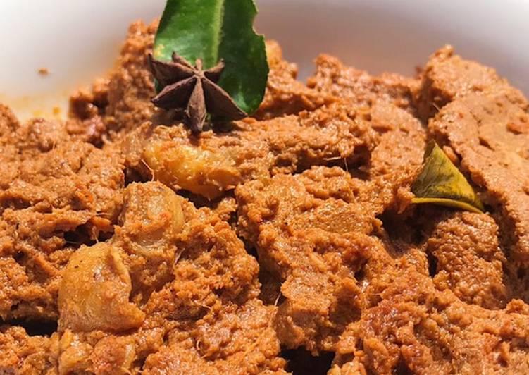 Cara mengolah Rendang Daging Padang Ala Icha Irawan ala resto