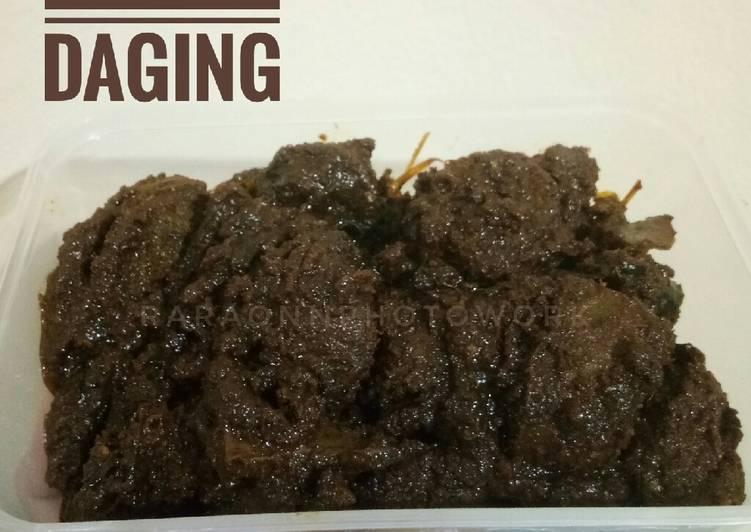 Resep membuat Rendang Daging yang menggoyang lidah