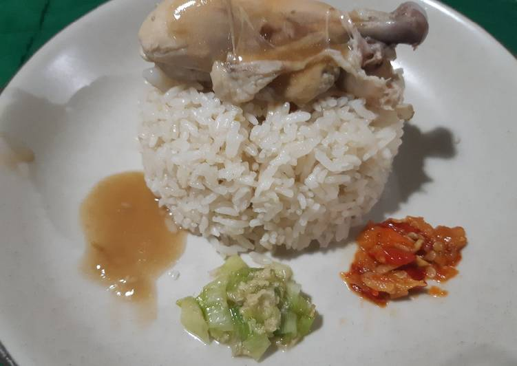 Resep mengolah Nasi Hainan enak