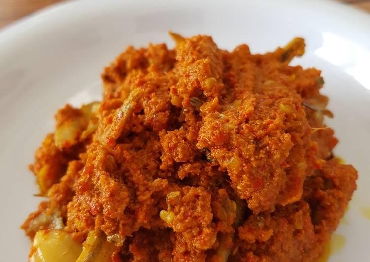 Resep: Sambalado tanak (sambalado jengkol teri) yang menggugah selera