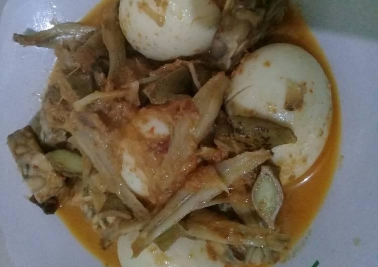 Resep memasak Sambalado tanak sedap