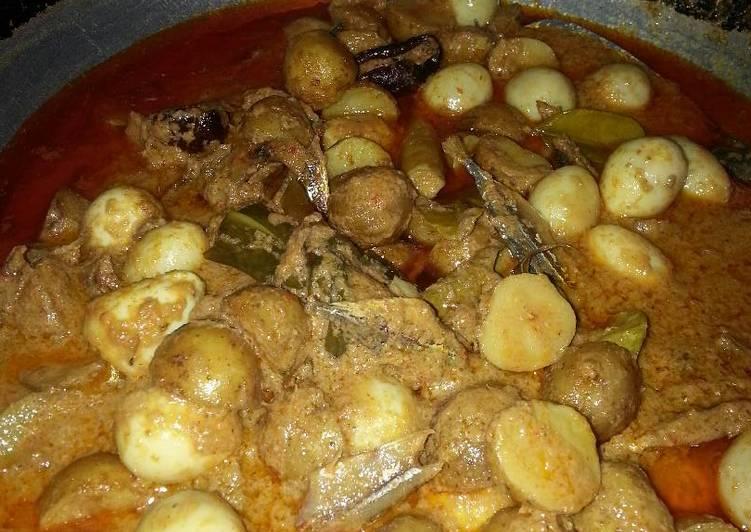Cara memasak Sambalado tanak (khas Padang) enak