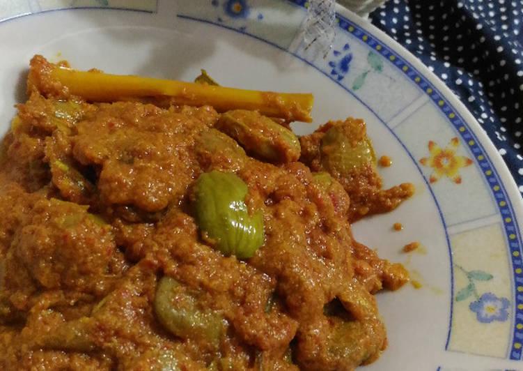 Cara memasak Sambalado Tanak Khas Padang (Rajanya sambal Minang) enak