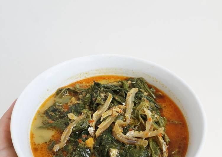 Resep: Samba Lado Tanak (daun singkong) yang menggugah selera