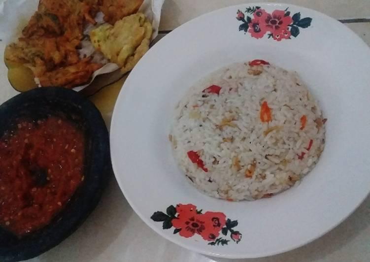 Nasi Liwet 'Ricecooker'