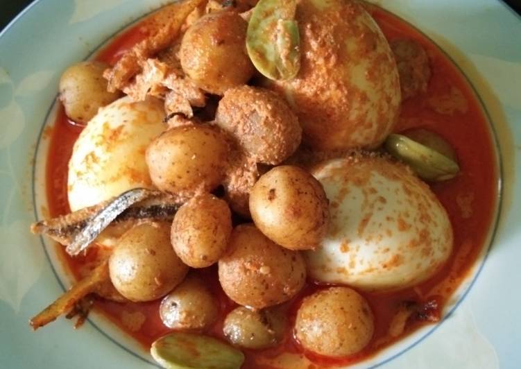 """Cara memasak Sambal lado tanak telor ala """"Dapur Mayang"""" ala resto"""