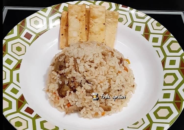 Nasi Gurih Ricecooker